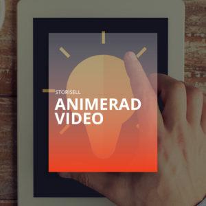 Animerad Video Storisell. Storisell erbjuder animerad video till våra kunder och byråpartners. Presentera företaget på mindre än 60 sekunder. Perfekt för företagets hemsida, säljmöten och sociala medier. http://storisell.se/animerad-video/