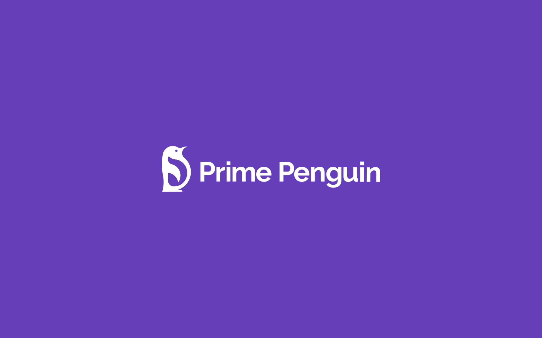 Prime Penguin Animerad Logotyp 9