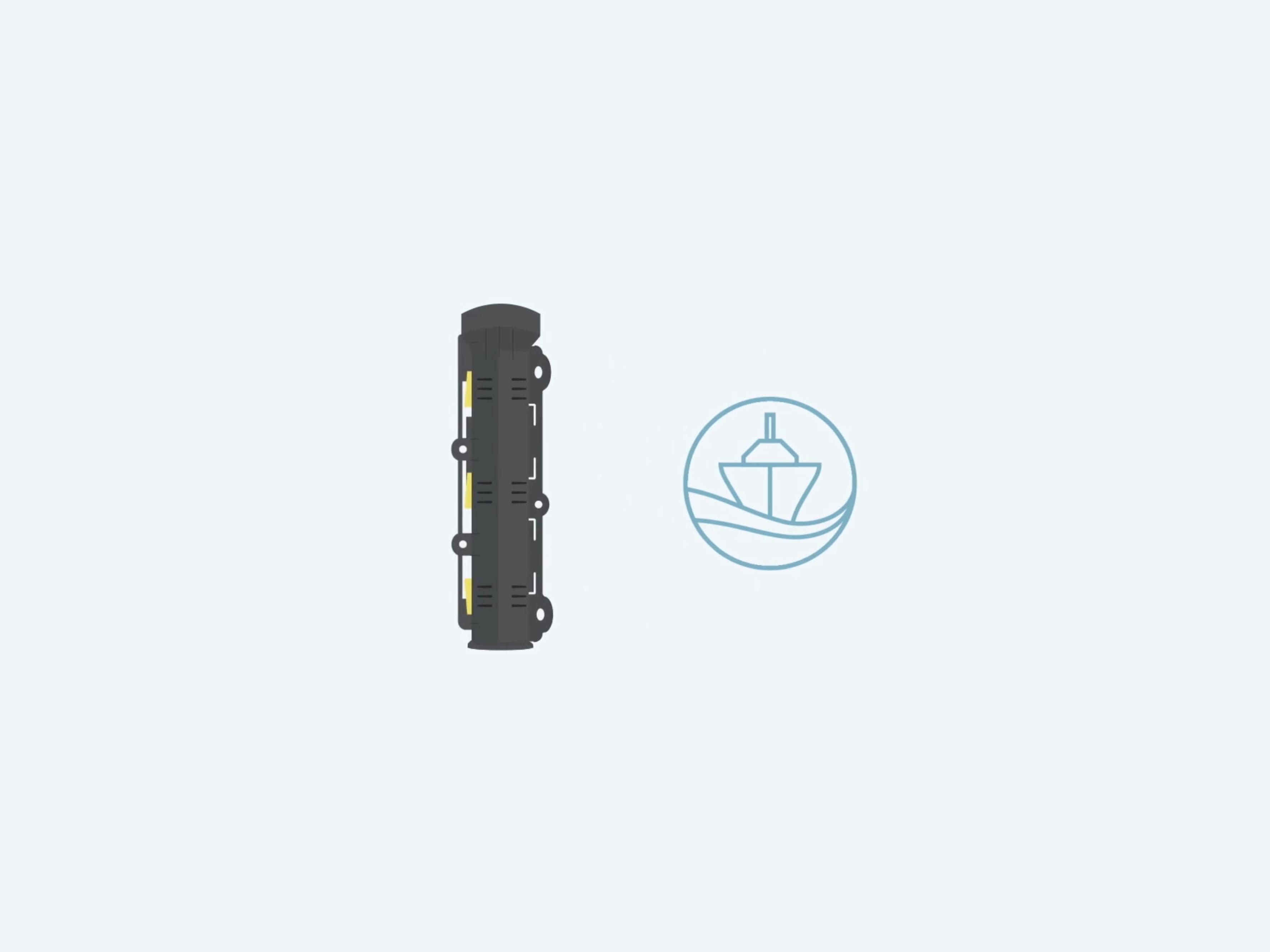 Storisell kan stolt leverera en animerad video till Greenpipe och deras kabelskyddsrör Snapp Panzar. Snapp Panzar är ett delbart kabelskyddsrör specialanpassat för havs- och sjökabelförläggning. Produkten Snapp Panzar är företagets vidareutveckling av deras populära kabelskyddsrör Snipp & Snapp. Den har en robust konstruktion som ger ett unikt kabelskydd i havs- och sjömiljö och inbyggt kylsystem som möjliggör minskade överföringsförluster vid hög belastning. Bra för att tex skydda det interna nätet i havsbaserade vindkraftsparker. I denna produktion var fokus på att leverera en film som kan användas i Greenpipes återförsäljningskanaler. Det är därför viktigt att filmen underlättar för återförsäljare att presentera produkten egenskaper på ett enkelt sätt. Videon är framtagen från kundens grafisk profil tillsammans med handritade illustrationer. Detta är den andra filmen i en rad filmer producerade för Greenpipe som har ett brett utbud av produkter som ligger i framkant inom sin bransch. Kunden har varit till stor hjälp med tydlig feedback i alla delar av produktionen. Filmen är framtagen mot flera internationella målgrupper där Storisell har levererat översättningar i följande språk: Engelska, Svenska, Tyska och Franska. Översättningar som är bra för att vara relevant på flera olika marknader med ett gemensamt budskap. https://storisell.se/portfolio/greenpipe-snapp-panzar/